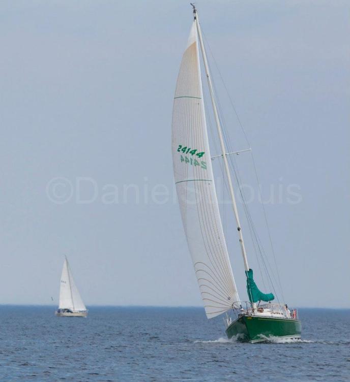 Sailboat on the waters of Shediac NB.