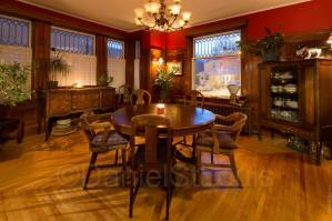 Dining room with character and class in Moncton NB.