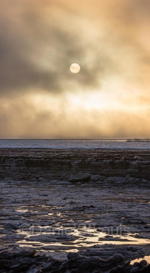 Sunrise over the Petitcodiac River.