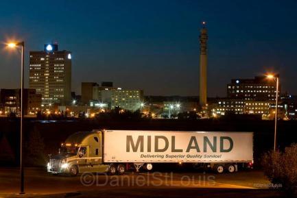 Photo of Midland Trucking in Moncton, New Brunswick.
