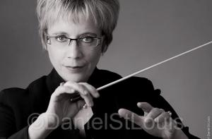 Moncton conductor Monique Richard headshot