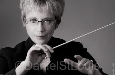 Moncton conductor Monique Richard headshot