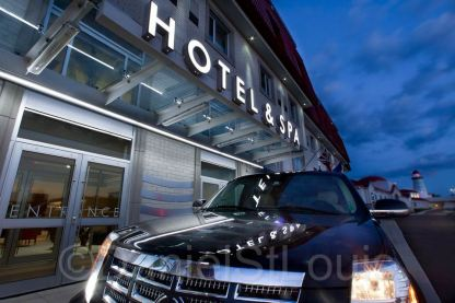Trendy exterior photography for Casino NB, Moncton