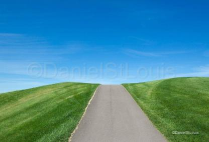Blue skies at Royal Oakes Estates and Golf Club.