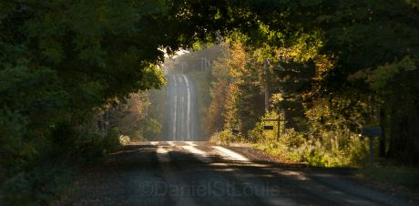 Road to Annapolis Valley, NS.