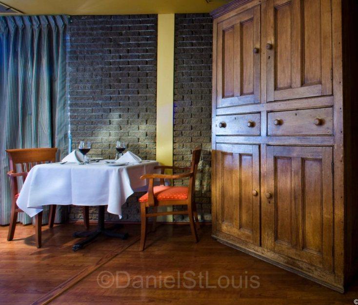 Hôtel Delta Québec dining room