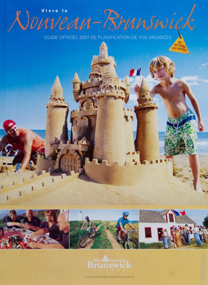 tourism new brunswick cover photo sandcastle