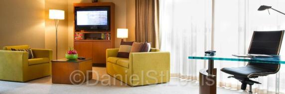 Room at the Fairmont Singapore
