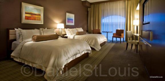 Hotel room photography for Casino NB Moncton