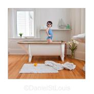 enbridge gas ad campaign blue bathtub