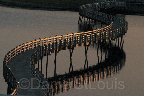 Pays de la Sagouine bridge in Bouctouche NB.
