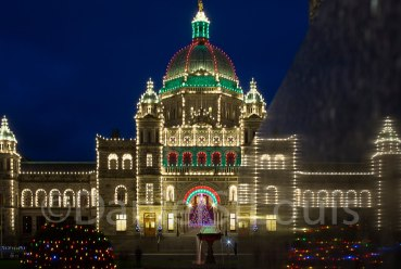 BC Parliment Buildings in Victoria, BC.