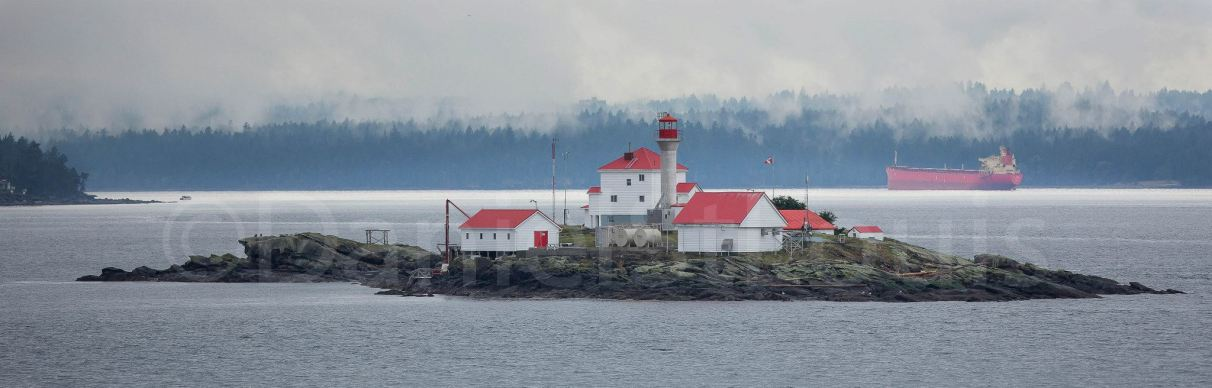 Lighthouse in Nanaimo, BC