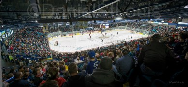Moncton Wildcats playing at the Coliseum.