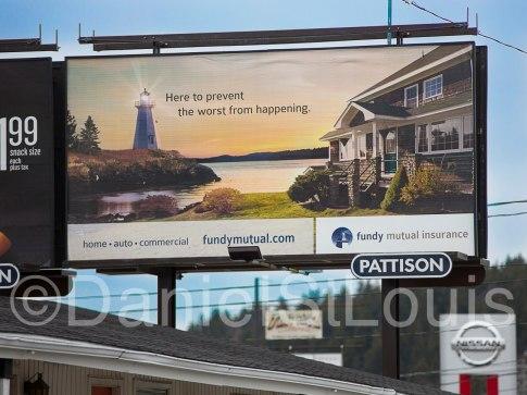Fundy Mutual Insurance billboard