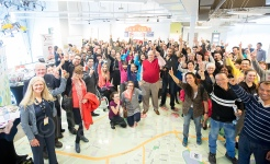 New Monctonians celebrate at the TDC
