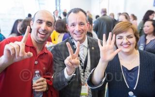 1-2-5 ! New Monctonian's celebrate with Deputy Mayor Crossman