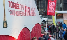 FIFA showcased the famous trophy - Moncton has a big soccer summer ahead