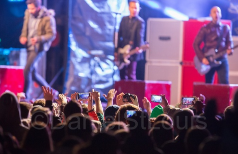 Simple Plan takes the stage