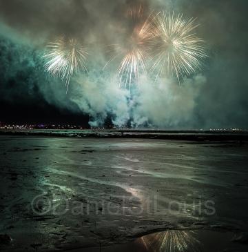 Moncton 125 Fireworks