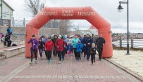 Riverfront run - participating in and promoting health and fitness on teh Riverfront Trail @ Bore Park