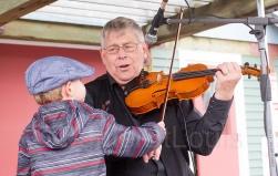 Ivan Hick's gets a lesson , Moncton Market