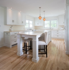 White kitchen by Glenwood in the Moncton area.